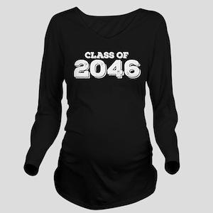 Class of 2046 Long Sleeve Maternity T-Shirt