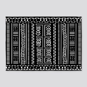 Afrocentric Pattern 5'x7'Area Rug