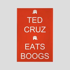 Cruz Eats Boogs Rectangle Magnet