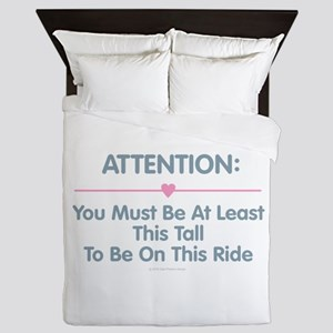 This Tall Ride Queen Duvet