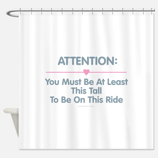 This Tall Ride Shower Curtain