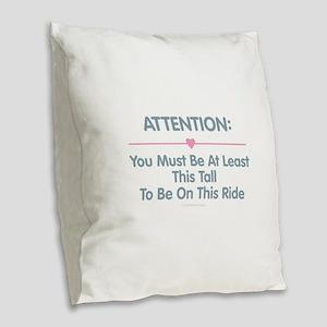 This Tall Ride Burlap Throw Pillow