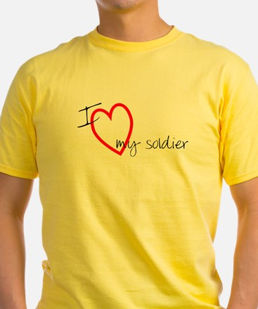 I Love My Soldier T