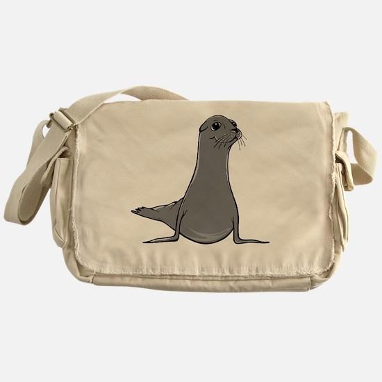 Cute Sea lion Messenger Bag