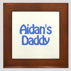 Aidan's Daddy Framed Tile