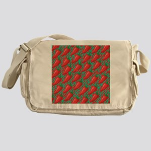 Red Hot Peppers Messenger Bag