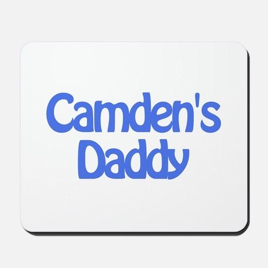 Camden's Daddy Mousepad