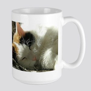 Sleeping Kitty Stainless Steel Travel Mugs