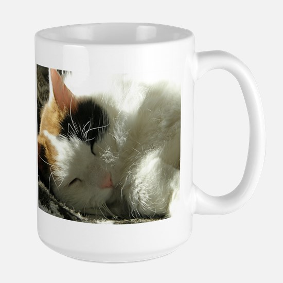 Sleeping Kitty Stainless Steel Travel Mugs