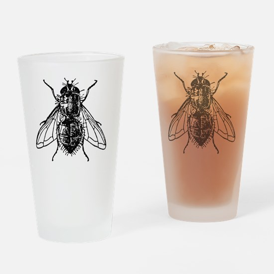 Cool Housefly Drinking Glass