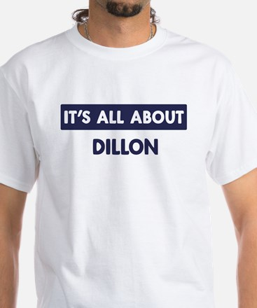 All about DILLON White T-Shirt
