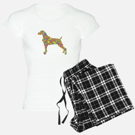 weimaraner tee shirt Pajamas