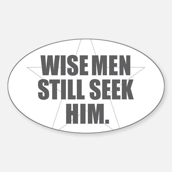Wise Men Still Seek Him Decal