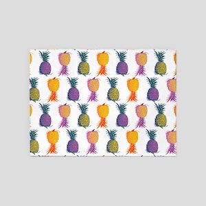 Pop Art Pineapple 5'x7'Area Rug