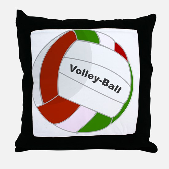 Cute Volley Throw Pillow