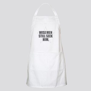 Wise Men Still Seek Him Light Apron