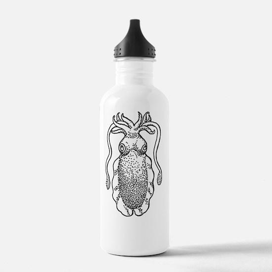 Cool Cuttlefish Water Bottle