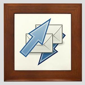 Mail send receive Framed Tile
