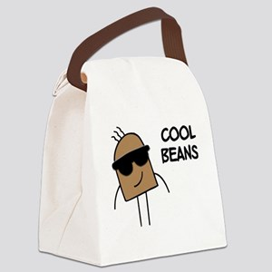 Cool Beans Canvas Lunch Bag