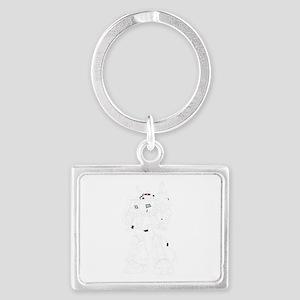 Robot cartoon Keychains