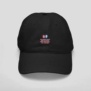 89 year old designs Black Cap