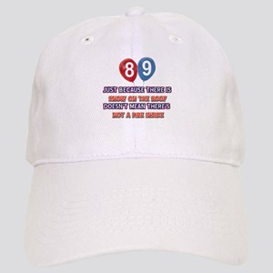 89 year old designs Cap