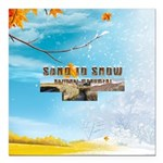 ABH Sand to Snow NM Square Car Magnet 3