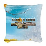 ABH Sand to Snow NM Woven Throw Pillow