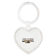 ABH Sand to Snow NM Heart Keychain