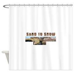 ABH Sand to Snow NM Shower Curtain