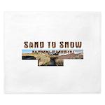 ABH Sand to Snow NM King Duvet