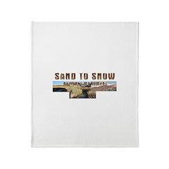 ABH Sand to Snow NM Throw Blanket