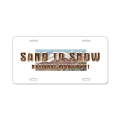 Abh Sand To Snow Nm Aluminum License Plate