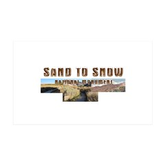 ABH Sand to Snow NM Wall Decal