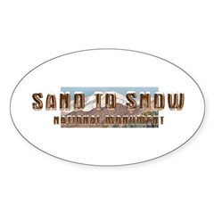 ABH Sand to Snow NM Sticker (Oval)