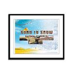 ABH Sand to Snow NM Framed Panel Print