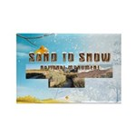 ABH Sand to Snow NM Rectangle Magnet (100 pack)