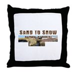 ABH Sand to Snow NM Throw Pillow