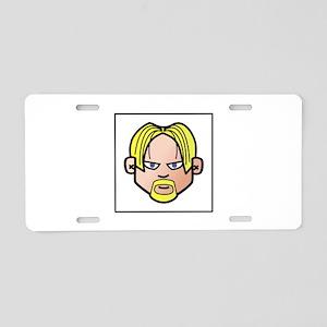 Avatar Man Face Aluminum License Plate