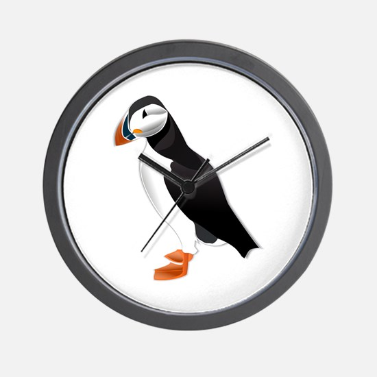 Puffin md Wall Clock