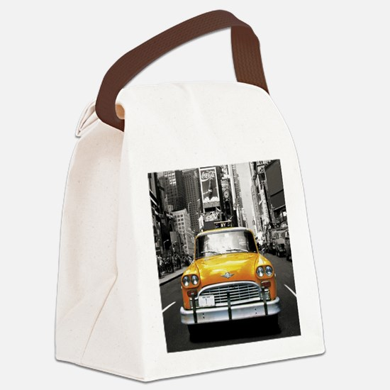 Cute Ny Canvas Lunch Bag