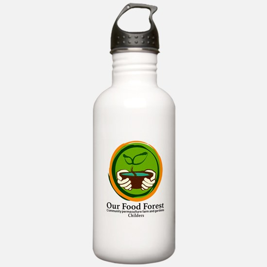 Our Food Forest Water Bottle