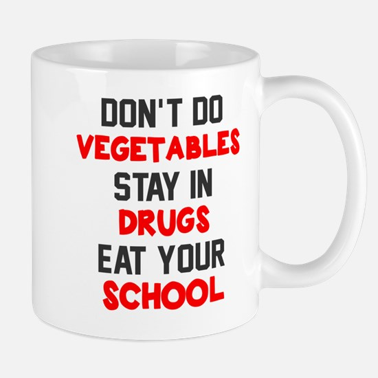 Don't do vegetables Mug