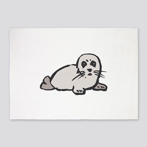 Seal Pup 5'x7'Area Rug