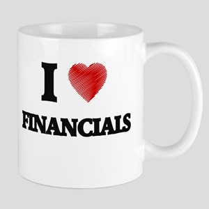 I love Financials Mugs