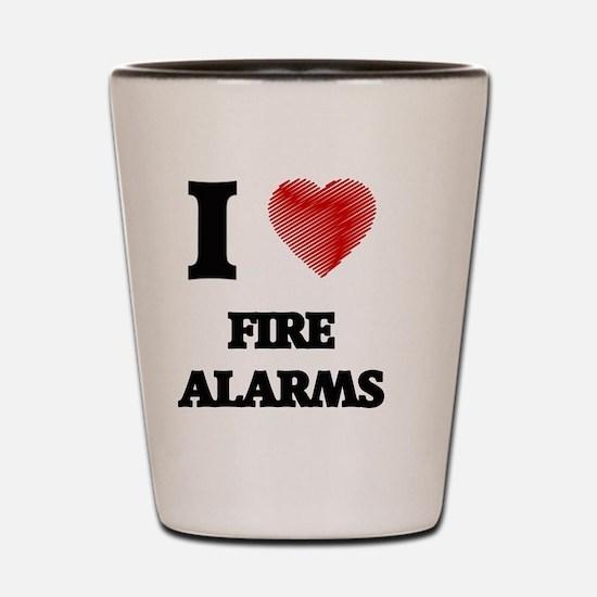 Cute Alarm Shot Glass