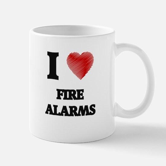 I love Fire Alarms Mugs