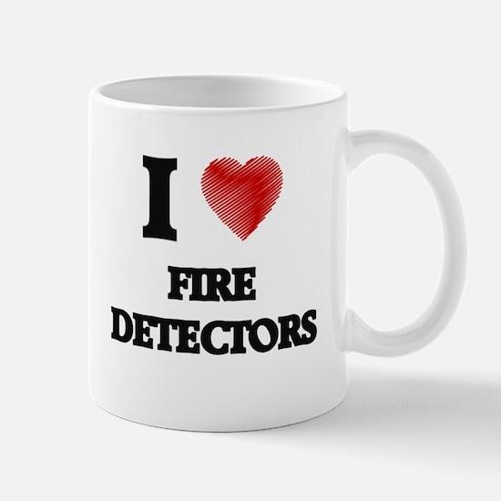 I love Fire Detectors Mugs