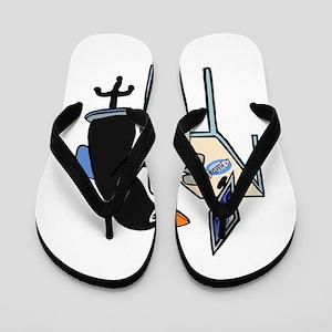 Penguin admin Flip Flops