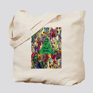 We WOOF You a Merry Christmas Tote Bag